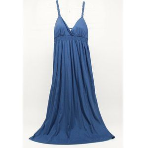 Blue Comfy Maxi Dress